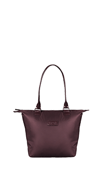 Lipault Lady Plume Tote Bag S  Wine Red