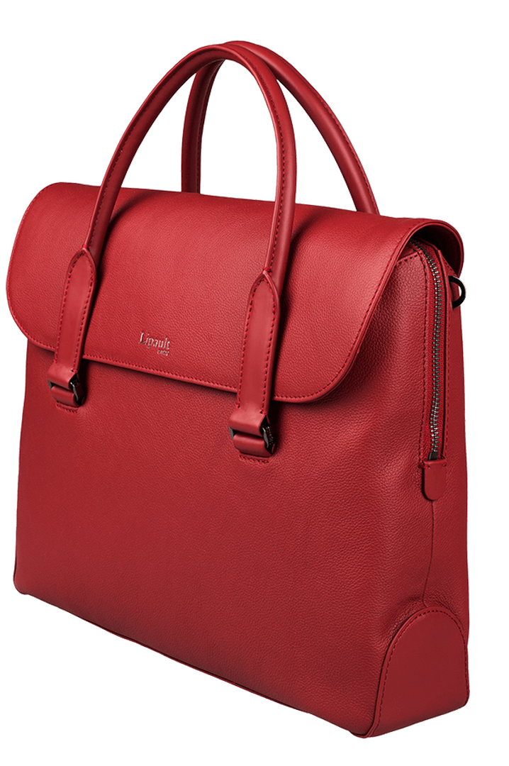 Plume Elegance Laptop Handtasche Ruby | 5
