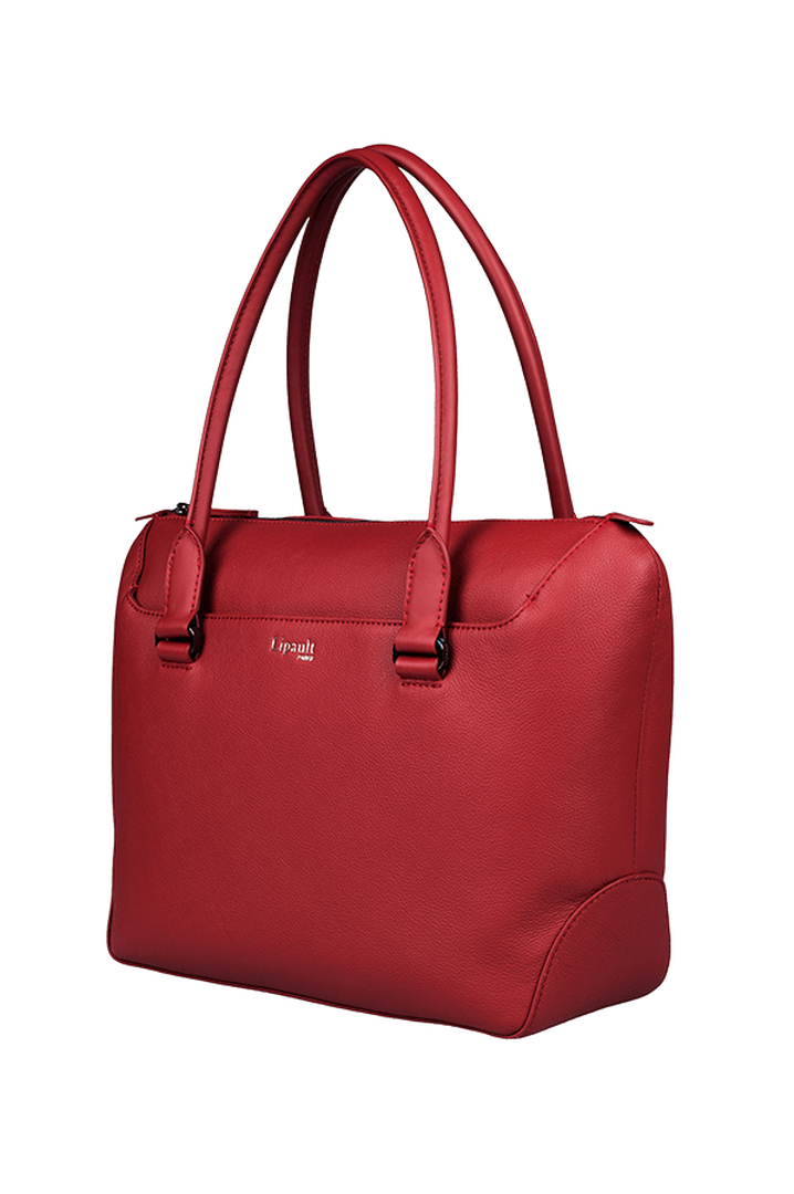 Plume Elegance Sac shopping Rouge | 4