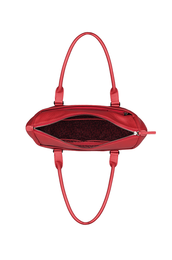 Plume Elegance Sac shopping Rouge | 2