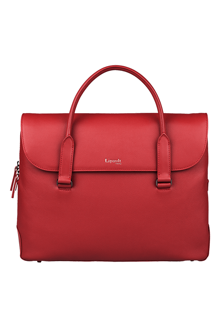 Plume Elegance Laptop Handtasche Ruby | 1