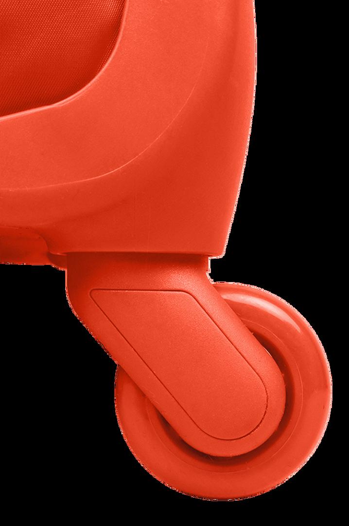 Originale Plume Trolley mit 4 Rollen 72cm Bright Orange   4