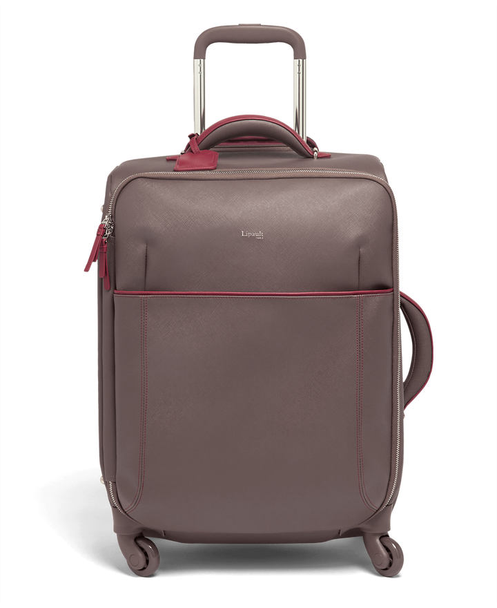 Variation Trolley mit 4 Rollen 55cm Grey/Raspberry | 1