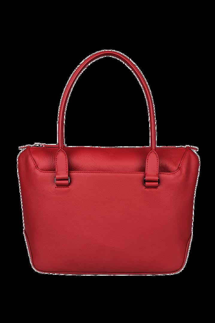 Plume Elegance Sac shopping Rouge | 3