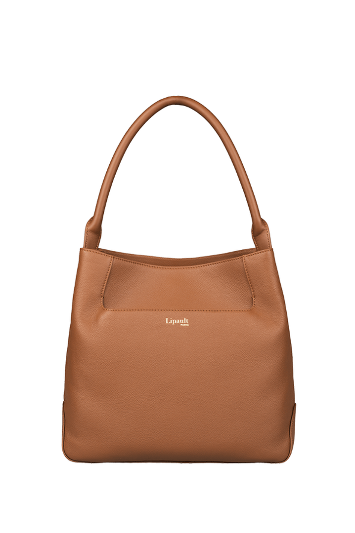 Plume Elegance Hobo bag Cognac | 1