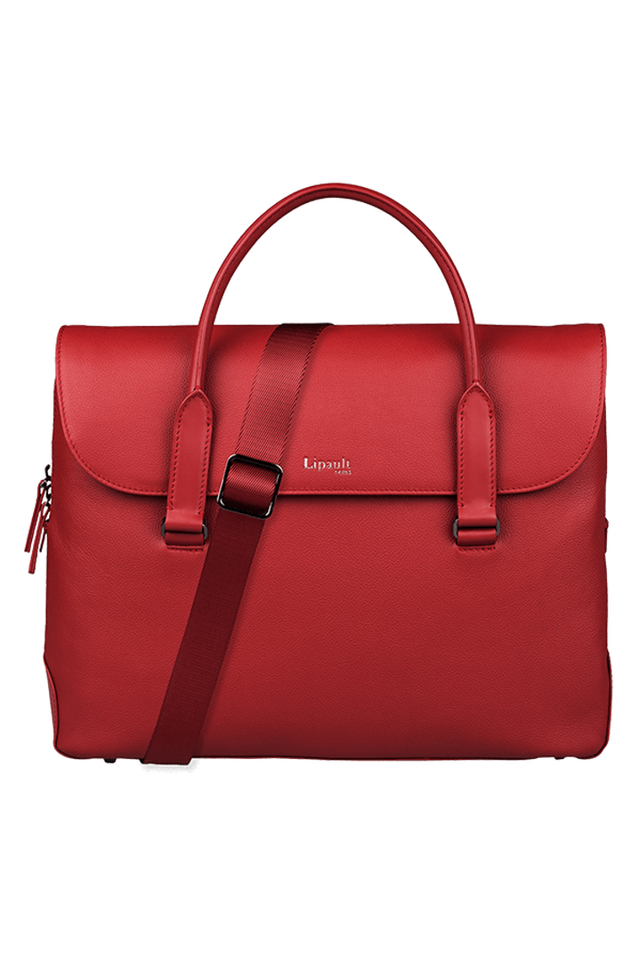 Plume Elegance Laptop Handtasche Ruby | 4