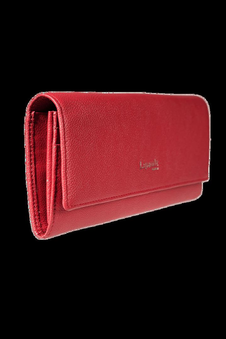 Plume Elegance Portefeuille Rouge   3