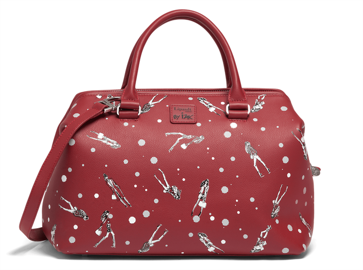 Izak Zenou Collab Sac bowling  Pose/Garnet Red | 1