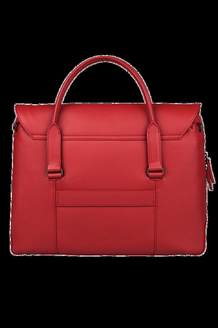 Plume Elegance Laptop Handtasche Ruby | 3
