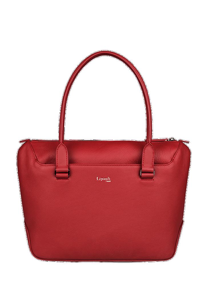 Plume Elegance Sac shopping Rouge | 1