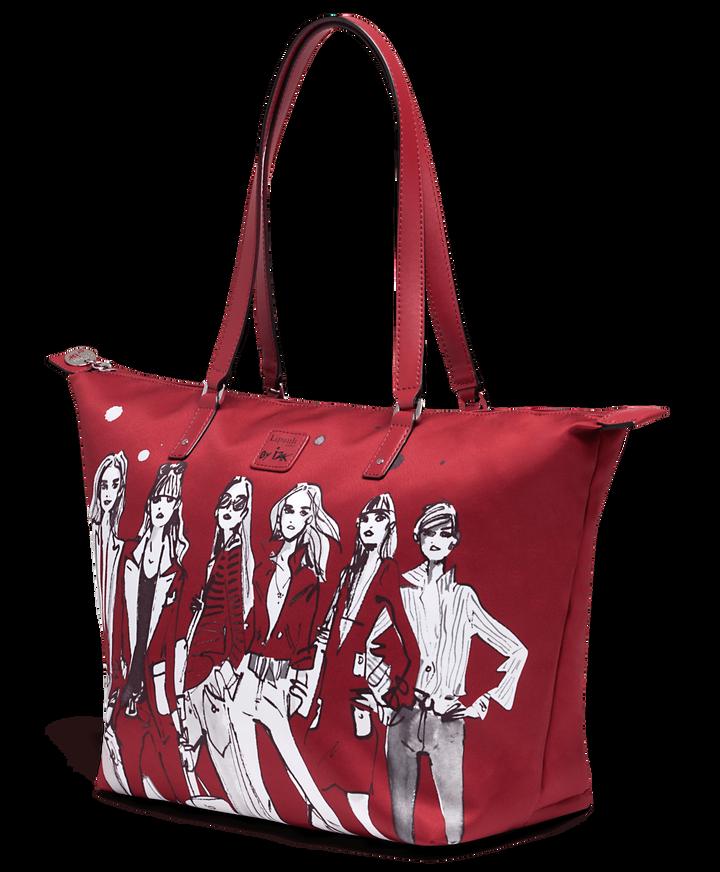 Izak Zenou Collab Shopper M Pose/Garnet Red | 3