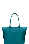 Lady Plume Sac shopping M Bleu Canard