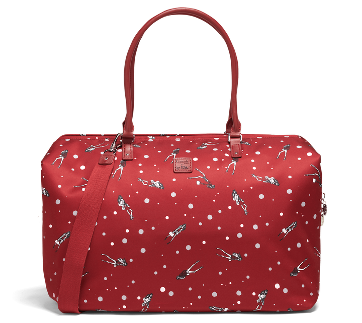 Izak Zenou Collab Weekender M Pose/Garnet Red | 1
