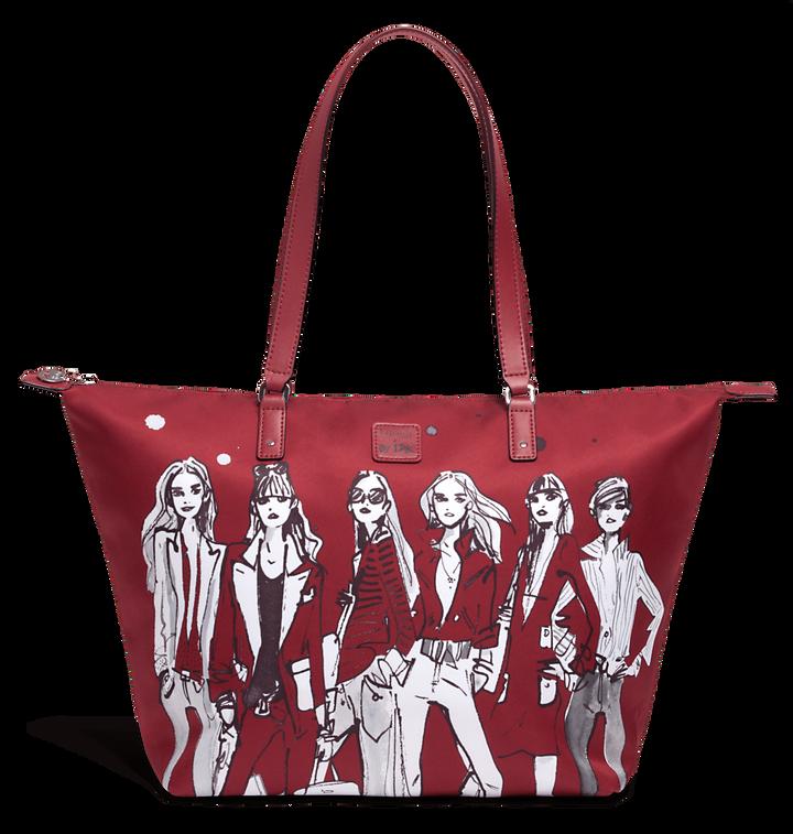 Izak Zenou Collab Shopper M Pose/Garnet Red | 1