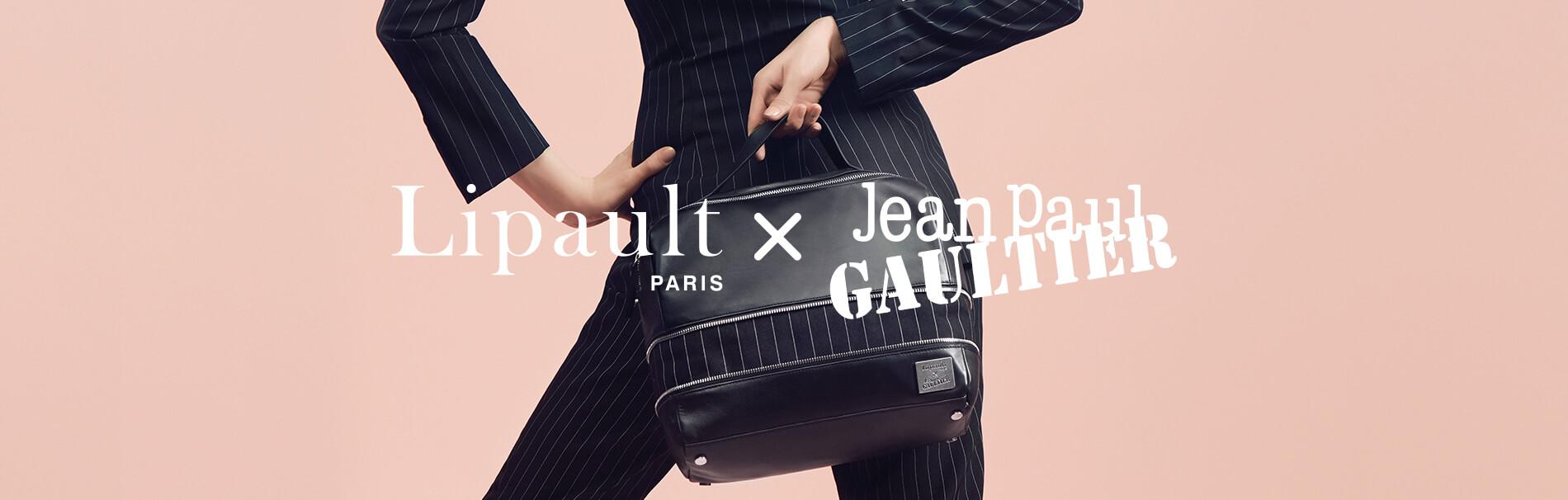 Lipault x Jean Paul Gaultier
