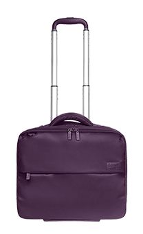 "Lipault Plume Business Pilot Case 2 roues 15"" Violet"